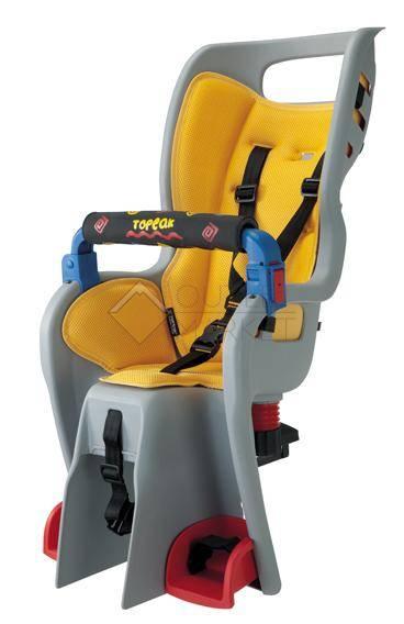 Детское кресло с багажником TOPEAK BabySeat II  под дисковые тормоза для 26 колёс meet EN и CPSC S