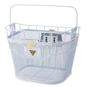 Корзина на рульTOPEAK Basket с креплением Fixer 3 белая