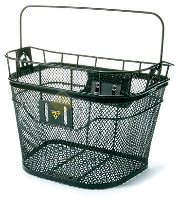 Корзина на руль TOPEAK Basket с креплением Fixer 3 чёрная