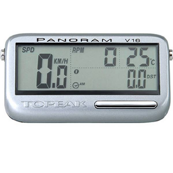 Велокомпьютер TOPEAK Panoram V16 16 function беспрововодные датчики скорости и каденса