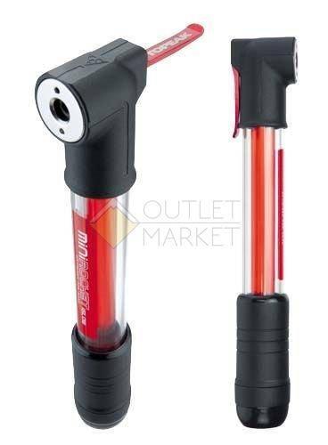 Насос TOPEAK Mini Rocket iGlow с 0.5W светящейся полосой красного цвета