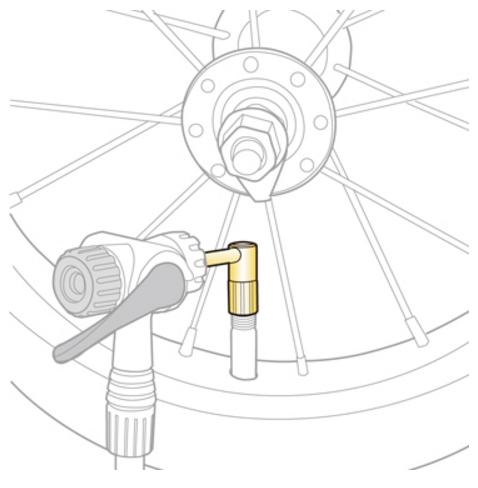 Адаптер для насоса TOPEAK TSV-01