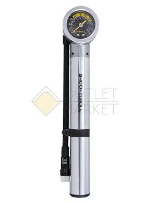 Насос для покрышек и воздушных амотриз TOPEAK Shock'n'Roll hand-shock pump с gauge 300 PSI 20.7BAR