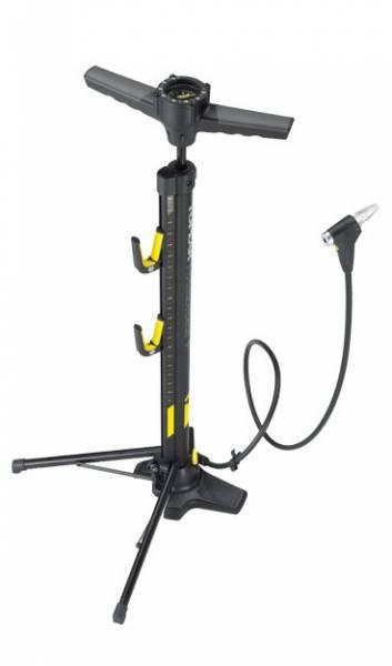 Напольный насос-стенд несъёмная версия TOPEAK Transformer X floor pump
