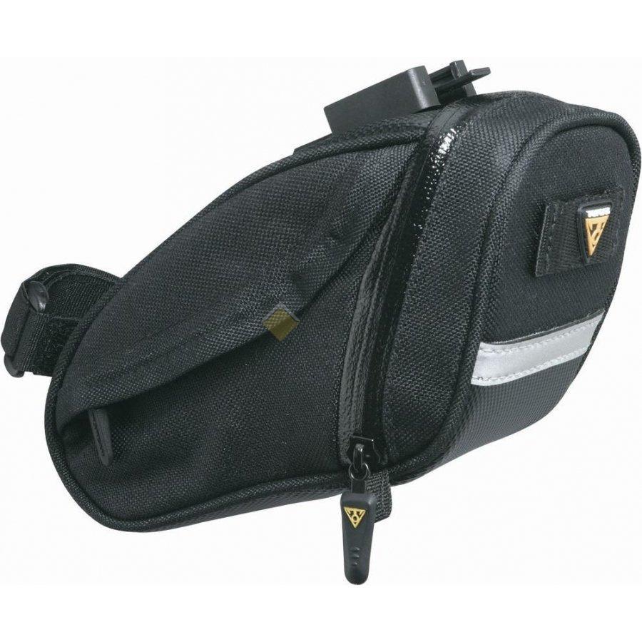 Подседельная сумка TOPEAK Aero Wedge Pack DX w F25 с креплением средняя TC2268B