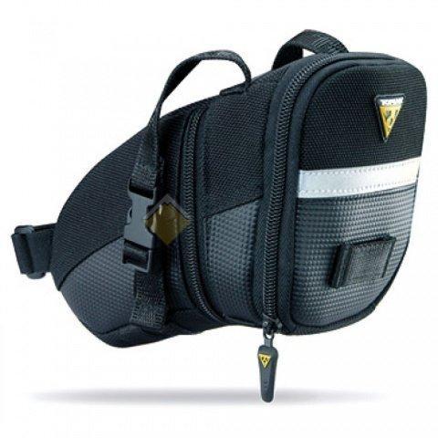 Подседельная сумка TOPEAK Aero Wedge Pack крепление на липучке Micro TC2471B