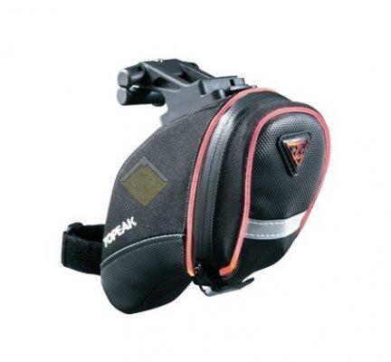 Подседельная сумка TOPEAK AeroWedge iGlow со светящейся окантовкой 0.5W