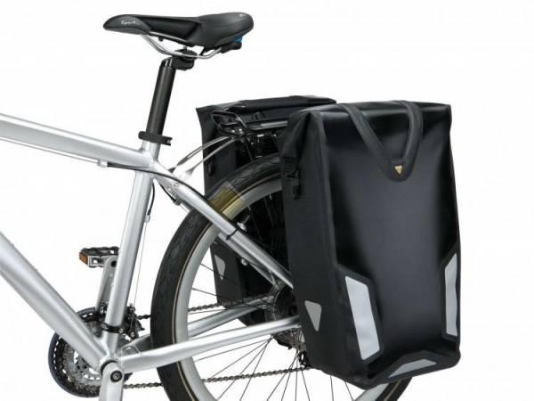Боковая водонепроницаемая сумка TOPEAK Pannier Dry Bag DX чёрный TT9829B