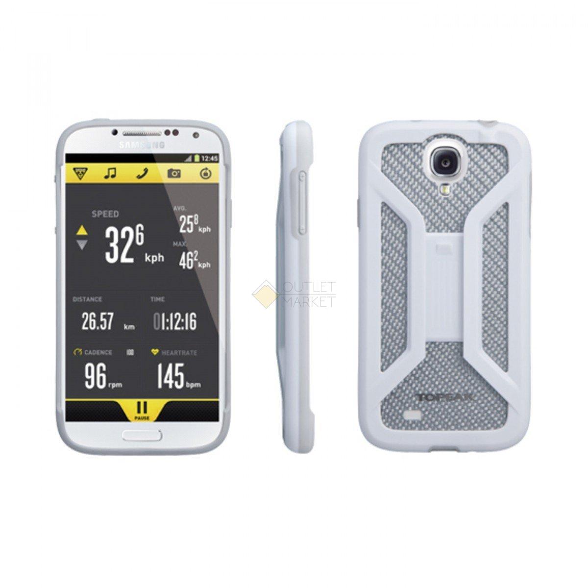 Бокс для телефона TOPEAK только для Samsung Galaxy S4 белый TRK-TT9836W