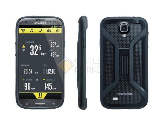 Бокс для телефона TOPEAK с креплением для Samsung Galaxy S4 чёрный