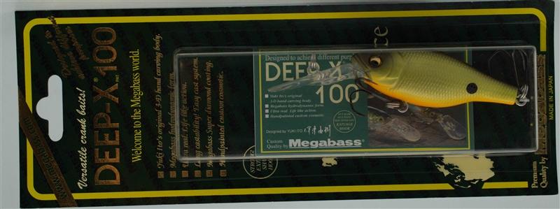 Воблер Megabass Deep-X 100 Strike Chart 4513473266652