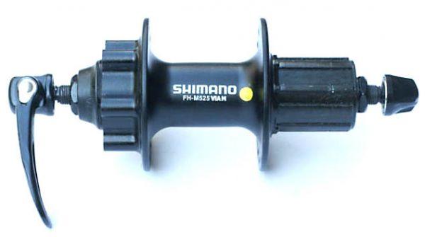 Втулка задняя Shimano Deore M525A 36 отверстий 8/9 скоростей QR 6-болтов черная EFHM525AAZLS