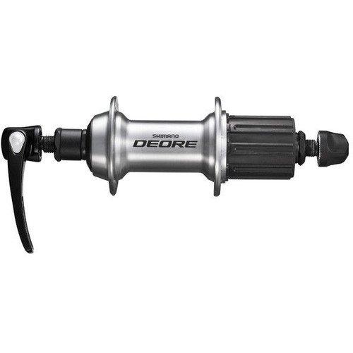 Втулка задняя Shimano Deore T610 36 отверстий 8/9/10 скоростей QR серебро EFHT610AZBS