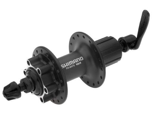 Втулка задняя Shimano M475 32 отверстий 8/9 скоростей 6-болтов QR 166 мм черная EFHM475BZSL