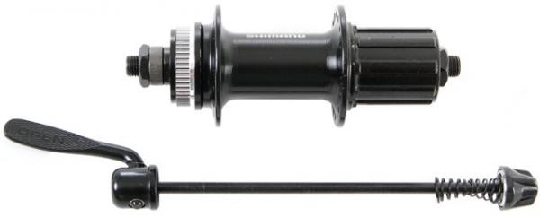 Втулка задняя Shimano RM33 32 отверстиz 8/9/10 скоростей C.Lock QR чёрная EFHRM33BZA