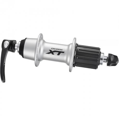 Втулка задняя Shimano XT T780 32 отверстий 8/9/10 скоростей QR серебро EFHT780BZAS