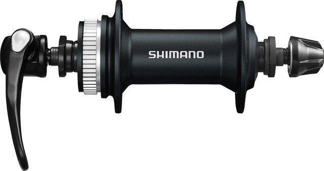 Втулка передняя Shimano Acera M3050 36 отверстий C.Lock чёрная QR 133мм чёрная EHBM3050A