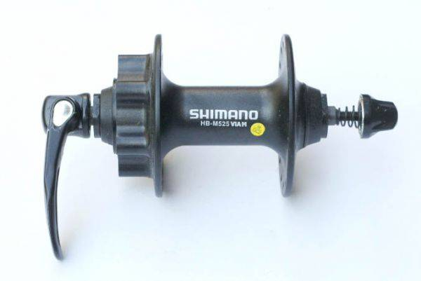 Втулка передняя Shimano EHBM525AALS
