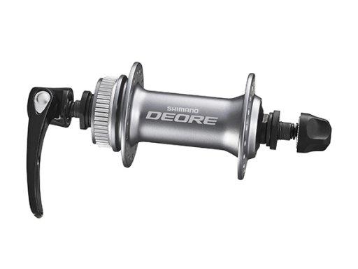 Втулка передняя Shimano Deore M615 36 отверстий C.Lock с пыльником серебро EHBM615ASP