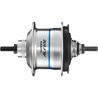 Втулка планетарная Shimano Alfine Di2 S705 32 отверстий 11 скоростей C.Lock 135x187 мм серебро ISGS705BS