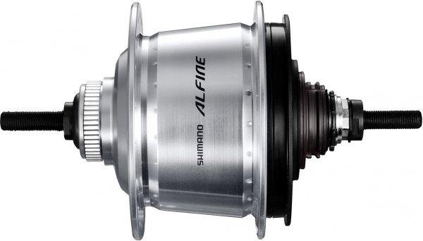 Втулка планетарная Shimano Alfine S7000 36 отверстий 8 скоростей C.Lock 135x187 мм серебро ISGS70008AS