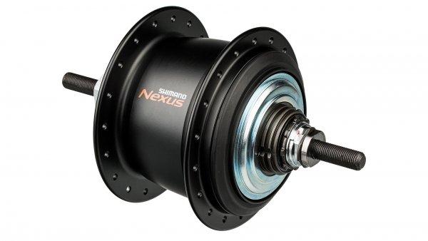 Втулка планетарная Shimano Nexus C6000 32 отверстий 8 скоростей C.Lock 135x187 мм черная KSGC60008DBL