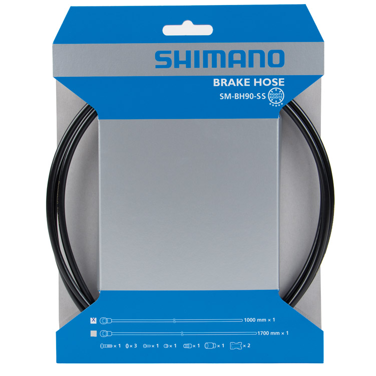 Гидролиния Shimano ZEE BH90-SBSL 1700 мм обрезной черный TL-BH61 ISMBH90SBSL170