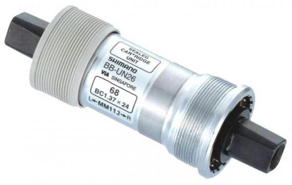 Каретка Shimano UN26-E 73/122.5 LL123 без болтов с шайбой 2.5 мм EBBUN26EC23X