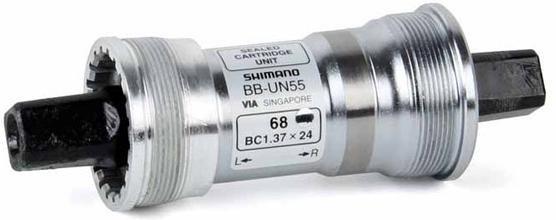 Каретка Shimano UN55 68/113 мм без болтов EBBUN55B13