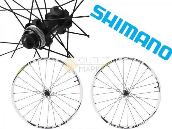 Комплект колес Shimano EWHMT66FRDW