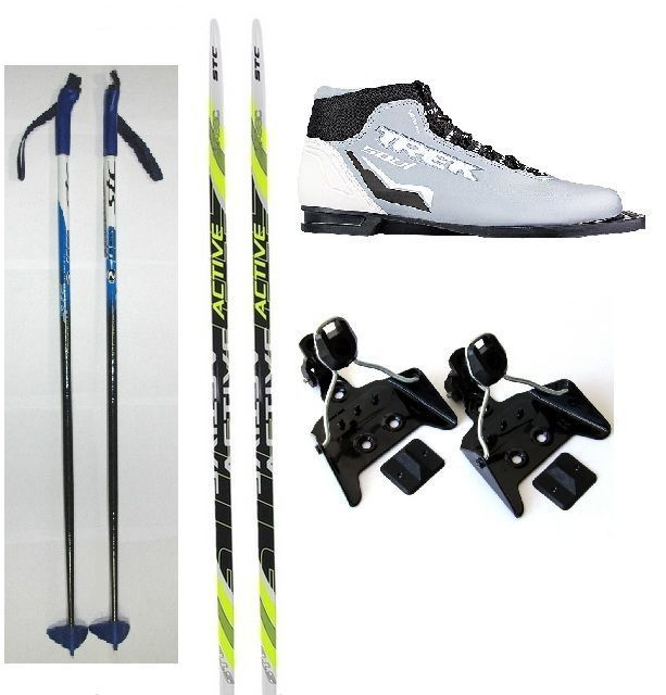 Лыжный Комплект с ботинками 75 мм - 140 STEP 75-140S