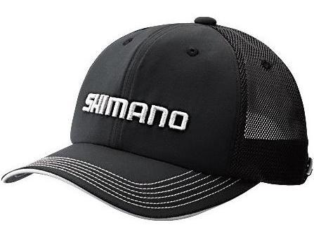 Кепка Shimano Basic Cap CA-031N Цв. Черный р-р. REGULAR (58 см.) 5YCA032N1F