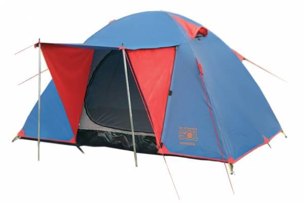Палатка Sol Wonder 3 синий