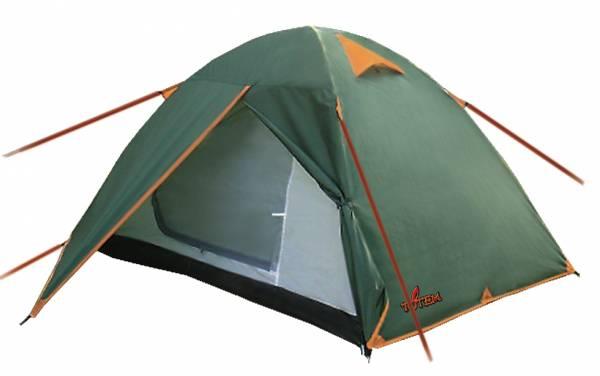 Палатка Totem Trek зеленый