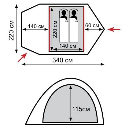 Палатка Tramp TRT-014.04