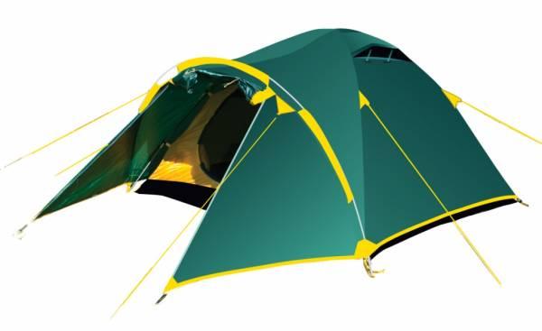 Палатка Tramp Lair 4 зеленый