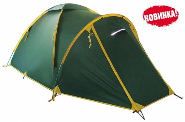 Палатка Tramp Space 4 зеленый
