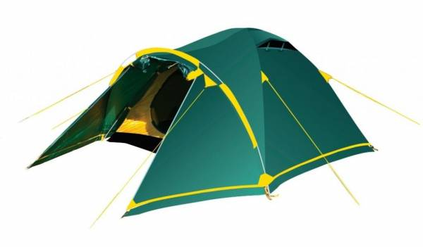 Палатка Tramp Stalker 3 зеленый