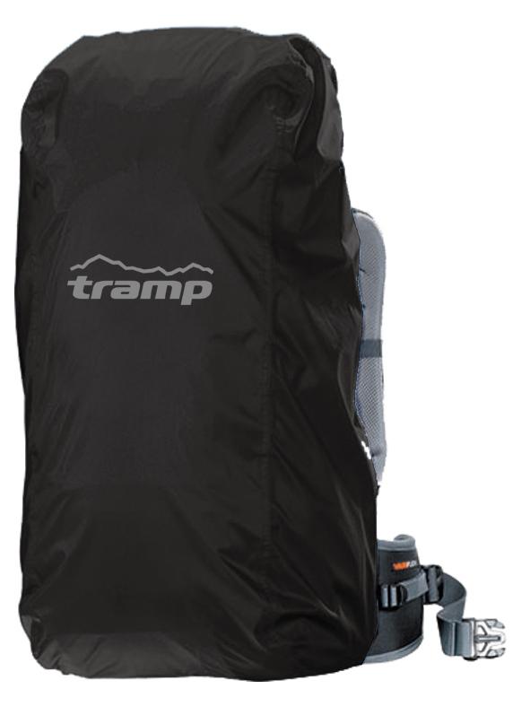 Накидка на рюкзак Tramp L (70-100l) черный TRP-019
