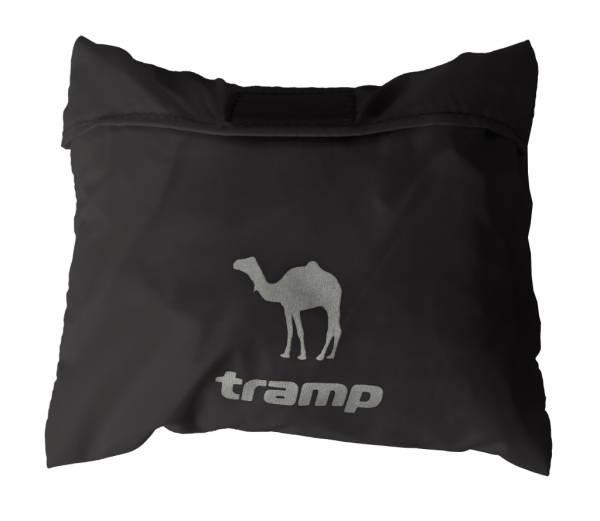 Накидка на рюкзак Tramp M (30-60l) черныйTRP-018