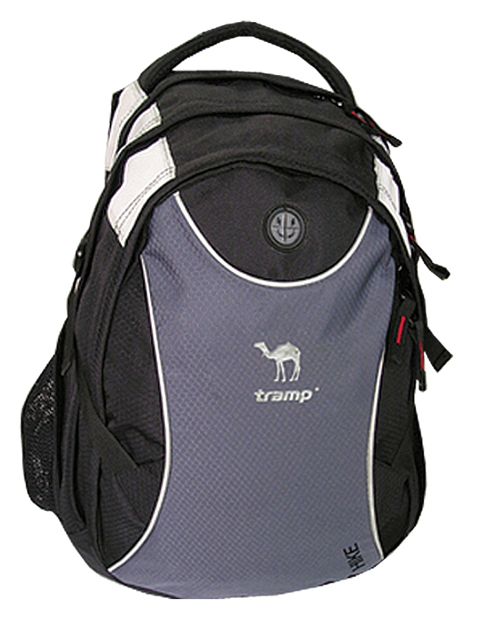 Рюкзак Tramp Hike 25 л, черно-серый TRP-007.08