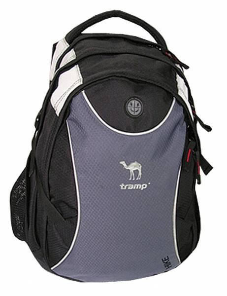 Рюкзак Tramp Hike 25 л, черно-серый