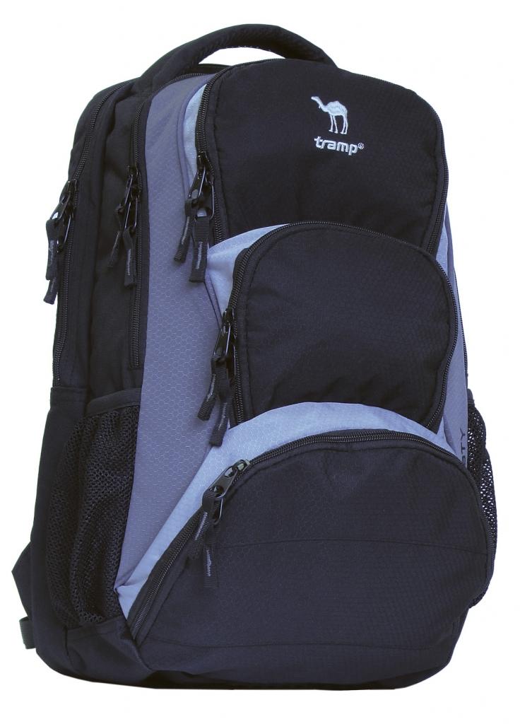 Рюкзак Tramp Trusty 30 л, черно-серый TRP-006.10