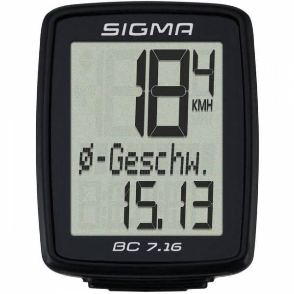 Велокомпьютер SIGMA 7160
