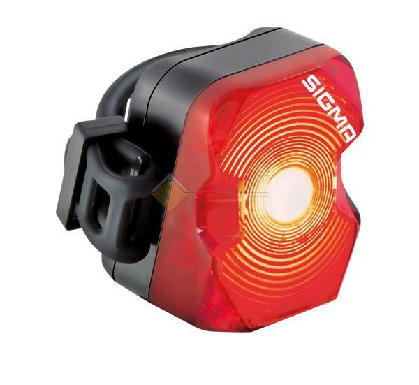 Фонарь задний красный SIGMA NUGGET FLASH 15001