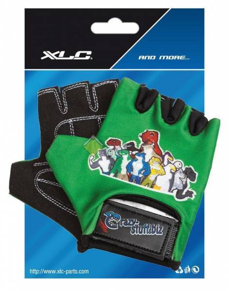 Велоперчатки XCL 2523278100 CHILDREN GLOVES CRAZU STUFF BOY, размер S/М CN8637