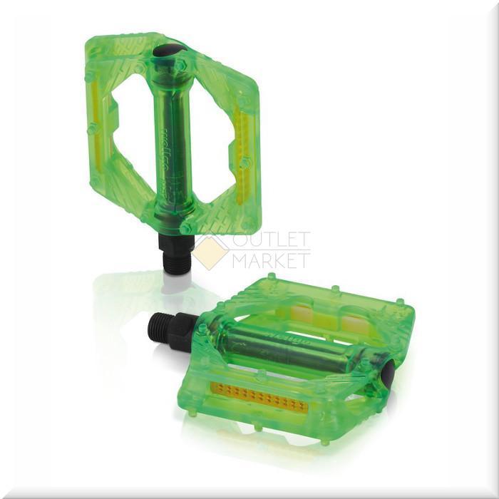 Педали XLC PLATFORM-PEDAL PD-M16 зеленые CN8684
