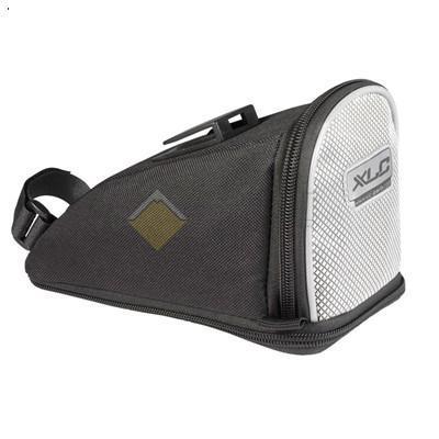 Сумка XLC SADLE BAG QUIK BA-S04, под седло, р-р L, 21х16х10 см, серебр. CN8692