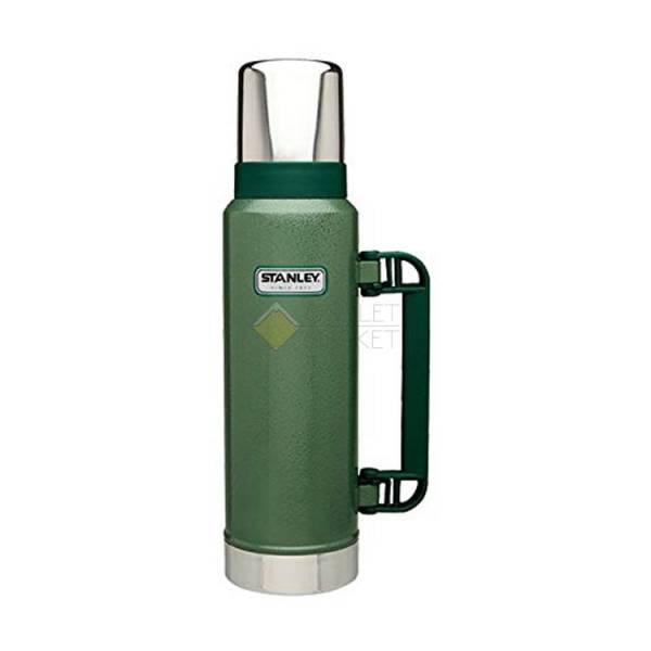 Термос STANLEY 1.3L Classic Vac Bottle Hertiage зеленый