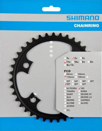 Звезда передняя Shimano Y1PH39000